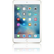 An Apple iPad mini 4