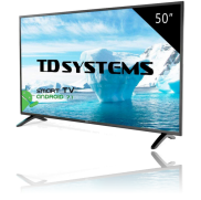 Un televisore LED da 50 pollici TD Systems LED